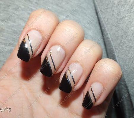 Фото -Рисунки на ногтях в домашних условиях