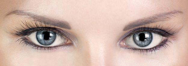 Фото - Макияж для серых глаз