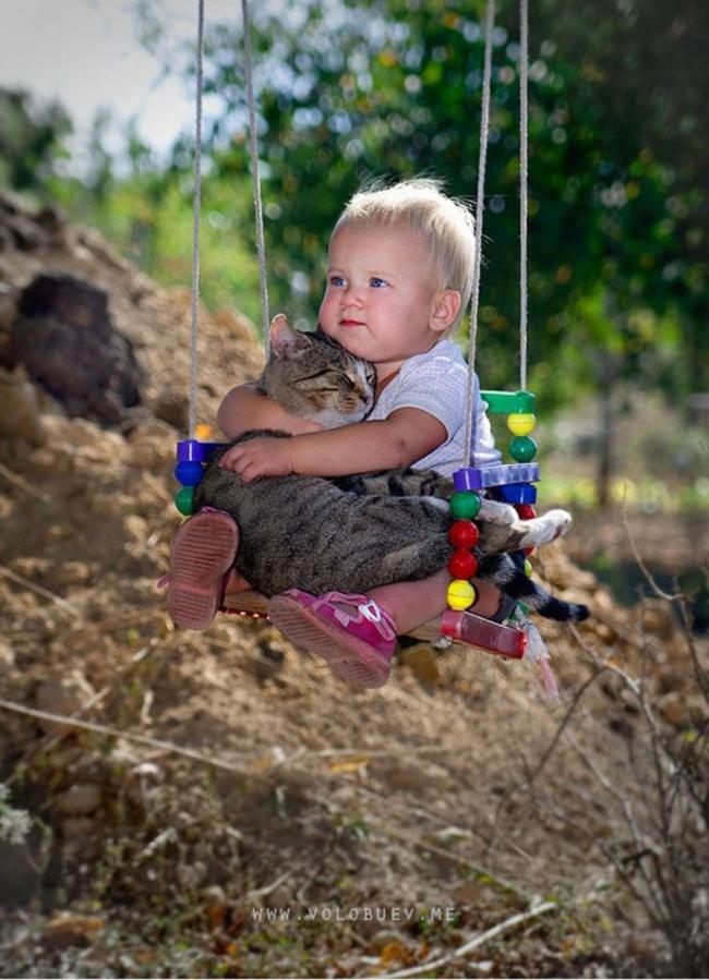 Фото 21 - Коты и дети