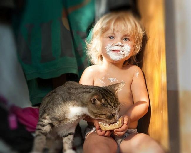 Фото 17 - Коты и дети