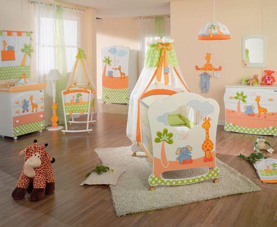 Фото - веселая комната для младенца