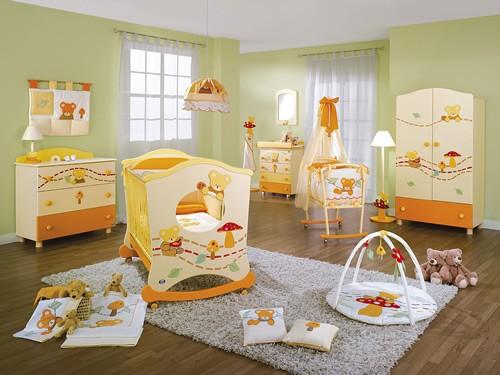 Фото - интерьера детской комнаты