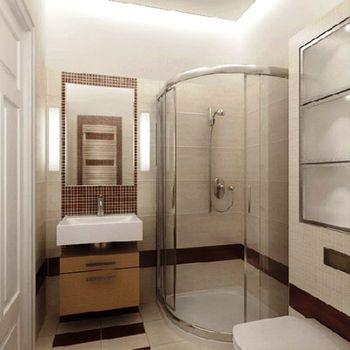 Фото - Душевая кабина в ванной