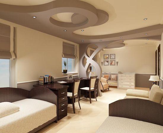 Фото - дизайн интерьера детской комнаты для двоих