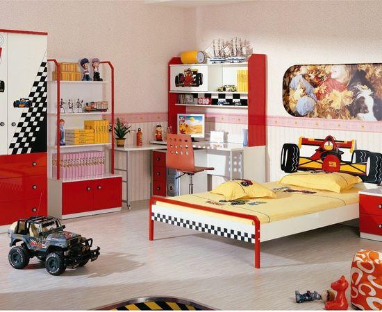 Фото - комната для мальчика в стиле формулы 1