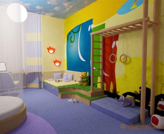 Фото - веселая комната для мальчика