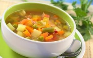 Фото - Овочной суп для грейпфрутовой диеты