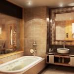 Интерьер в ванной комнате и его особенности