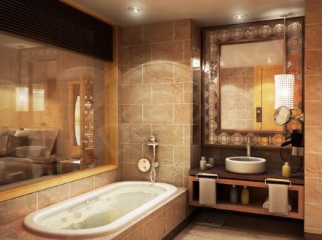 Фото - Интерьер в ванной комнате