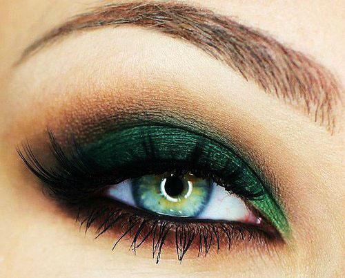 Фото - Макияж для зеленых глаз