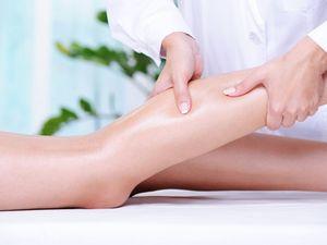 Фото - Этап массажа ног