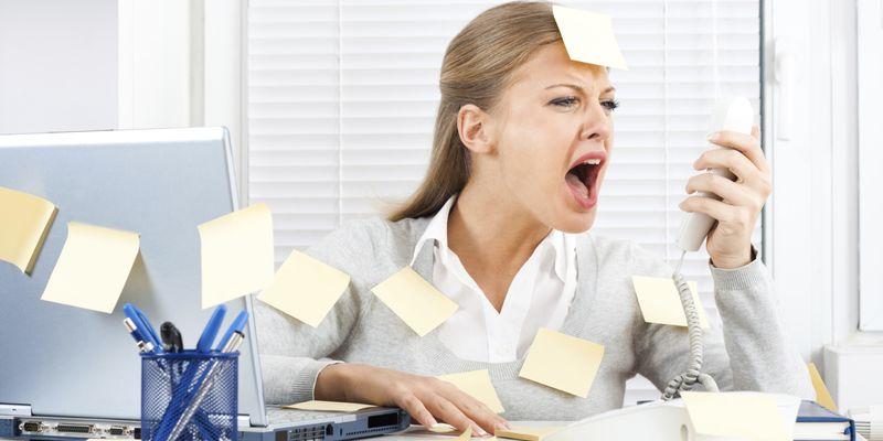 Фото - Стресс на работе
