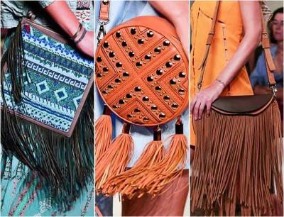 Фото - Бахрома сумки