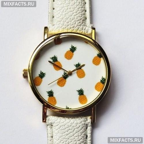 Фото - Часы с фруктами