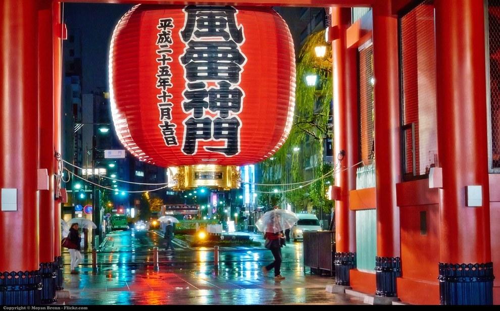 Фото - Японский фонарь