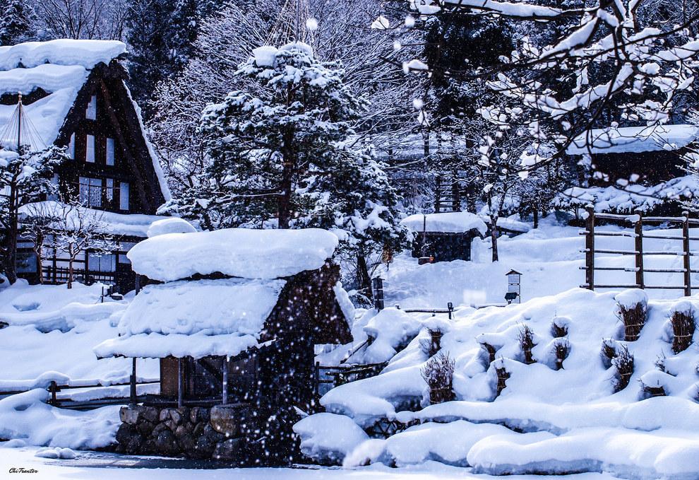 Фото - Зима в Японии