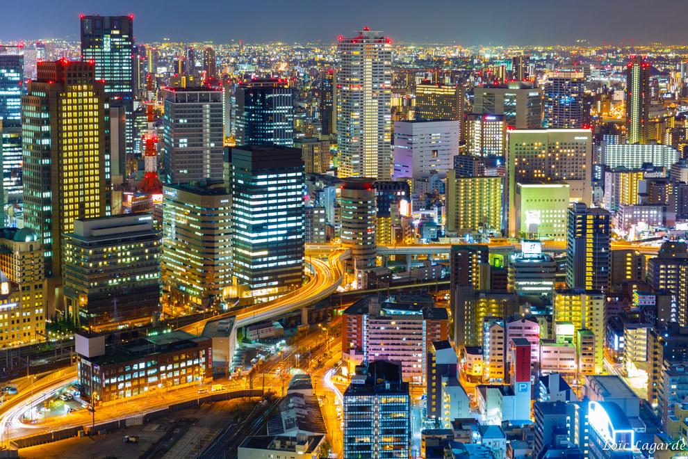 Фото - Панорамы города Осака