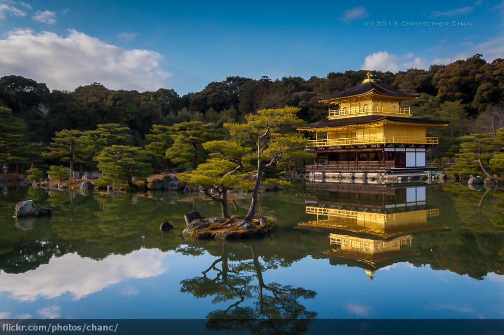 Фото - Храм на воде в Японии