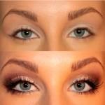 Как визуально увеличить глаза с помощью косметики