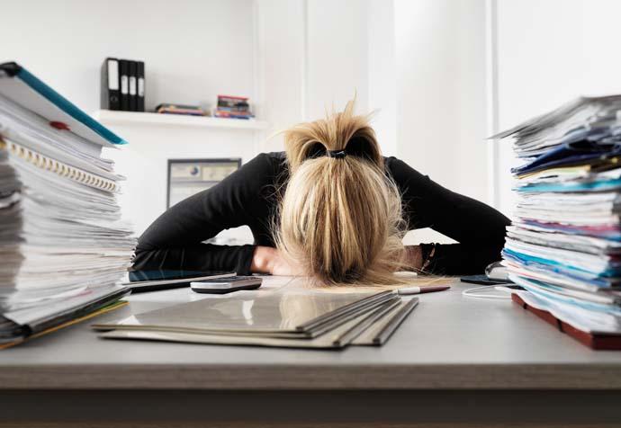 Фото - Загруженность, как причина стресса на работе
