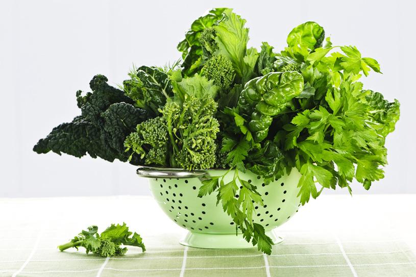 Фото - Зеленые листья для улучшение памяти