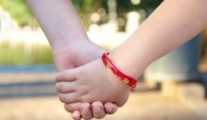Фото - Красная нить для ребенка