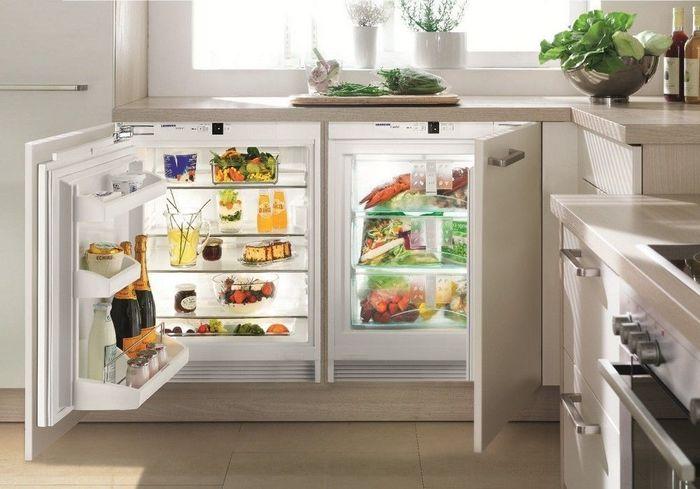 Фото - Отдельная морозильная камера на кухне