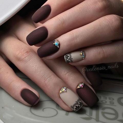Фото - Матовые лаковые покрытия на ногти