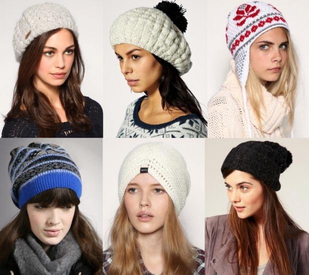 Фото - Женские шапки сезона осень-зима