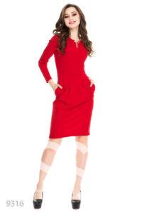 Фото - Платье с юбкой-тьюльпаном