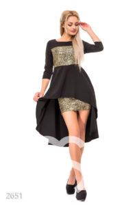 Фото - Платье черное