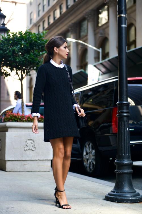 Фото - Девушка в модном платье