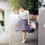 Пышная юбка – наряд для принцессы
