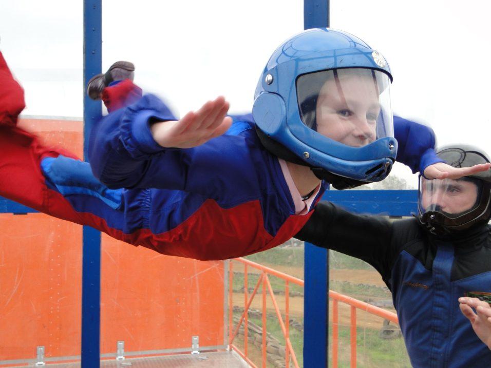 Аэродинамическая труба для детей в Москве