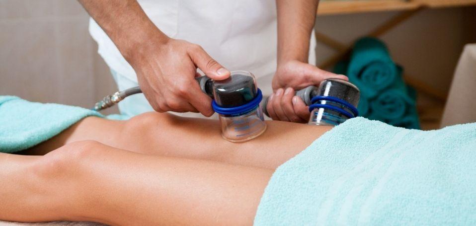 Аппаратный вакуумный массаж - Фото