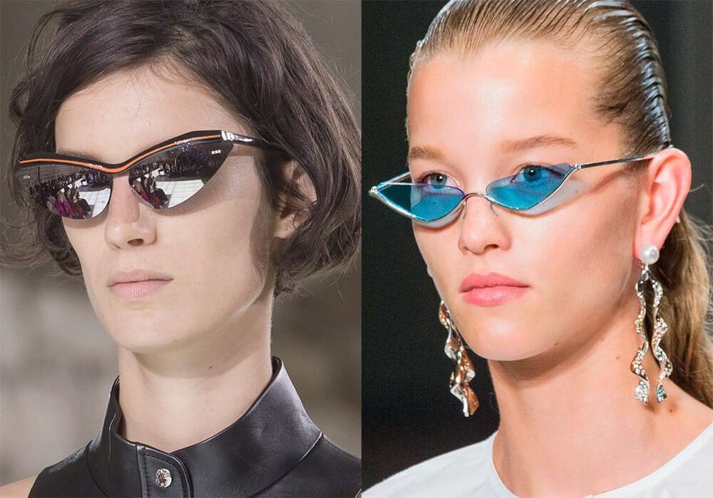 Солнцезащитные очки в необычной оправе
