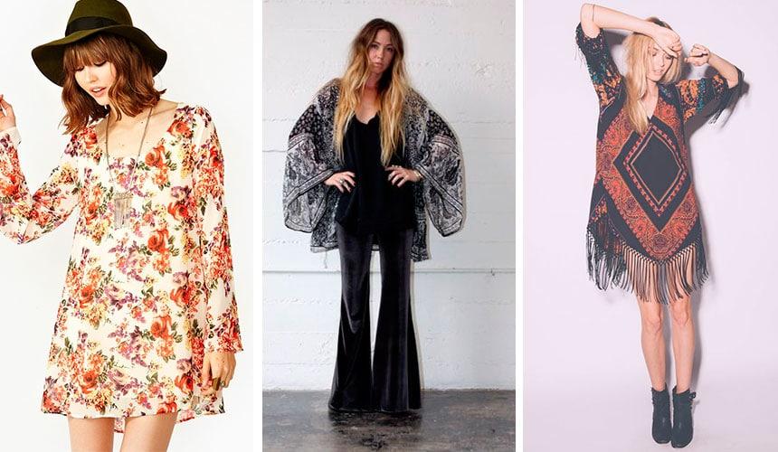 Модные тенденции в стиле 70х