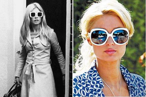 Фото - Девушка в солнцезащитных очках